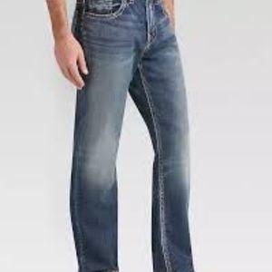 Men's Silver Grayson Medium Wash Jeans 36/32